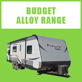 View our range of Budget Alloy American Caravans