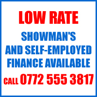 Low Rate Caravan Finance available
