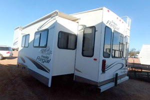 Used American Caravans and Fifth Wheels